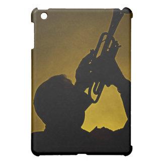 Caja de la mota de Ipad de la sombra de la trompet
