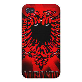 Caja de la mota de Iphone 4/4S de la bandera de Al iPhone 4 Carcasas