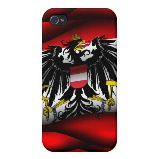 Caja de la mota de Iphone 4/4S de la bandera de Au iPhone 4/4S Carcasas