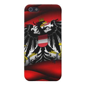 Caja de la mota de Iphone 4/4S de la bandera de Au iPhone 5 Carcasa