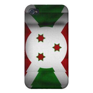 Caja de la mota de Iphone 4/4S de la bandera de Bu iPhone 4 Protectores