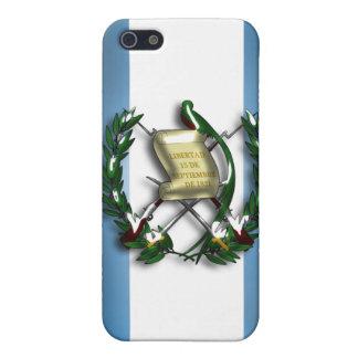 Caja de la mota de Iphone 4/4S de la bandera de Gu iPhone 5 Carcasa