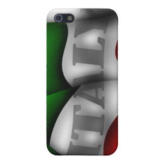Caja de la mota de Iphone 4/4S de la bandera de It iPhone 5 Protectores