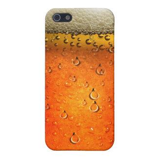 Caja de la mota de Iphone 4/4S de la cerveza iPhone 5 Carcasa