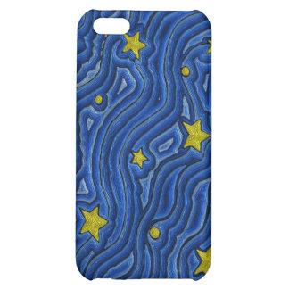 Caja de la mota de IPhone 4/4S del cielo nocturno