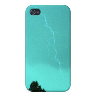 Caja de la mota de Iphone 4/4s del relámpago 3 del iPhone 4 Carcasas