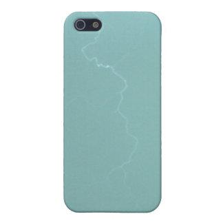 Caja de la mota de Iphone 4/4s del relámpago del t iPhone 5 Carcasas