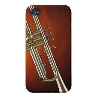 Caja de la mota de Iphone de la trompeta o del cuc iPhone 4 Protector