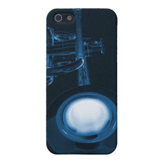 Caja de la mota de Iphone de la trompeta o del cuc iPhone 5 Fundas