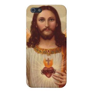 Caja de la mota de Jesús iPhone 5 Carcasas