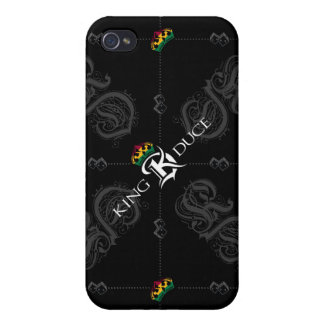 Caja de la mota de KD Rasta para el iPhone 4/4S iPhone 4 Funda
