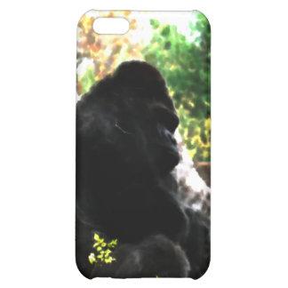 Caja de la mota de la acuarela del gorila