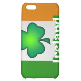 Caja de la mota de la bandera de Irlanda