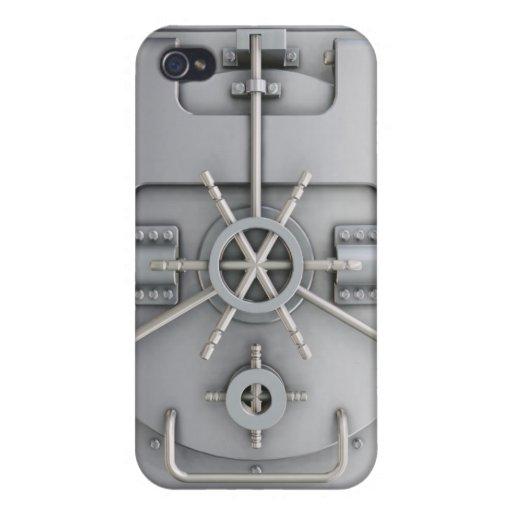 Caja de la mota de la cámara acorazada iPhone 4/4S funda