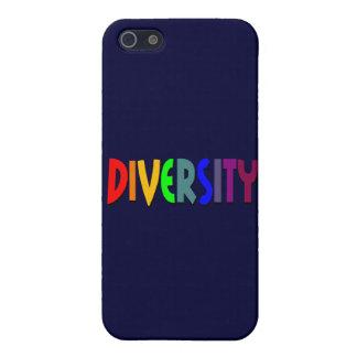 Caja de la mota de la diversidad iPhone 5 fundas