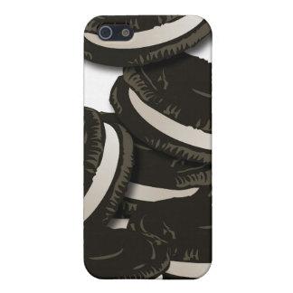Caja de la mota de la galleta del bocadillo del ch iPhone 5 funda