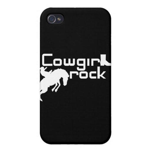 Caja de la mota de la roca de las vaqueras iPhone 4/4S funda