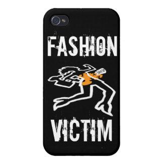 Caja de la mota de la víctima de la moda iPhone 4 cobertura