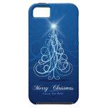 Caja de la mota de las Felices Navidad 47 iPhone 5 Carcasa