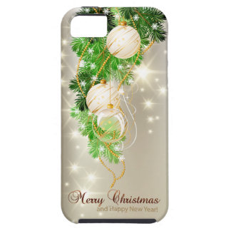 Caja de la mota de las Felices Navidad 53 iPhone 5 Protectores