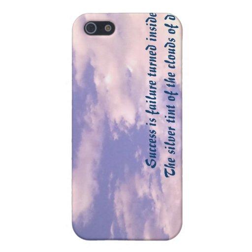Caja de la mota de las nubes iPhone 5 cárcasas