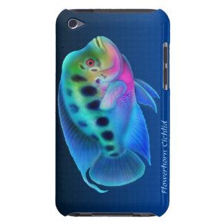 Caja de la mota de los pescados de Cichlid de Flow Barely There iPod Coberturas