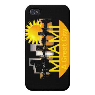 Caja de la mota de Miami iPhone 4/4S Carcasa