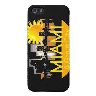 Caja de la mota de Miami iPhone 5 Carcasa