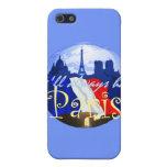 Caja de la mota de París iPhone 5 Protector