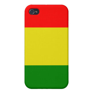 Caja de la mota de Rasta iPhone 4/4S Fundas