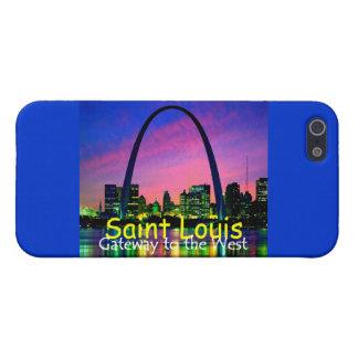 Caja de la mota de St. Louis iPhone 5 Fundas