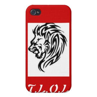 Caja de la mota de T.L.O.L iPhone 4 Carcasas
