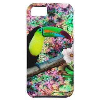Caja de la mota de Toucan 4 iPhone 5 Cobertura