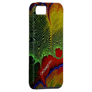 Caja de la mota del arte 1-10 del fractal funda para iPhone SE/5/5s