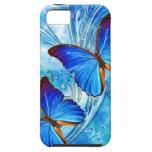 Caja de la mota del arte 37 de la mariposa iPhone 5 Case-Mate coberturas