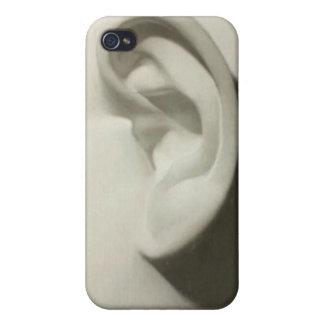 Caja de la mota del arte del oído iPhone 4 carcasa