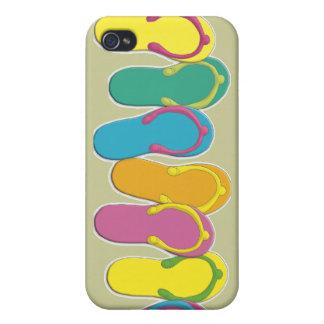 Caja de la mota del balanceo iPhone 4 protector