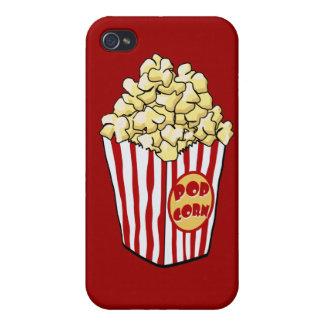 Caja de la mota del bolso de las palomitas del dib iPhone 4/4S funda