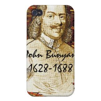 Caja de la mota del Bunyan de Juan iPhone 4 Carcasas