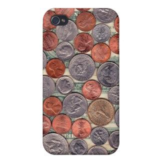 Caja de la mota del cambio del bolsillo iPhone 4 fundas