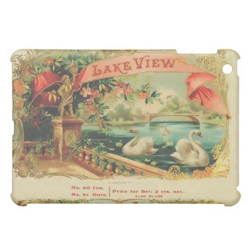 Caja de la mota del cigarro de la opinión del lago
