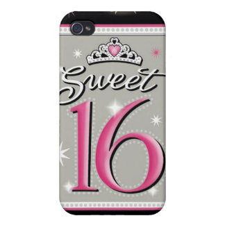Caja de la mota del dulce dieciséis iPhone 4/4S fundas