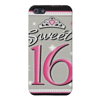 Caja de la mota del dulce dieciséis iPhone 5 carcasas
