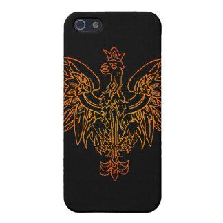 Caja de la mota del escudo de Viking iPhone 5 Fundas