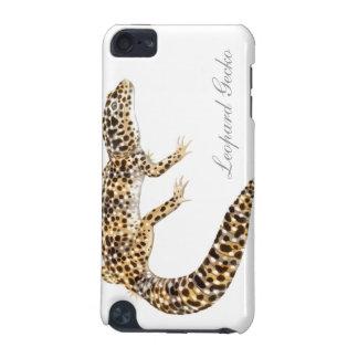 Caja de la mota del Gecko del leopardo de Herps Funda Para iPod Touch 5G