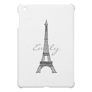 Caja de la mota del iPad de la torre Eiffel