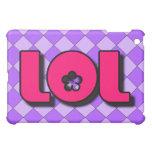 Caja de la mota del iPad de LOL