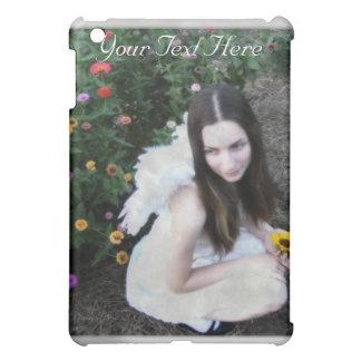 Caja de la mota del iPad del ángel
