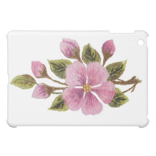Caja de la mota del iPad del blosson del manzano