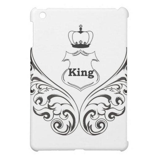 Caja de la mota del iPad del rey